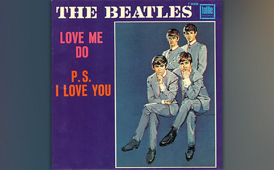 """The Beatles – """"Love Me Do/PS I Love You"""" (1962) Von dieser Debüt-Single wurden nur 250 Exemplare produziert. Der Clou:"""