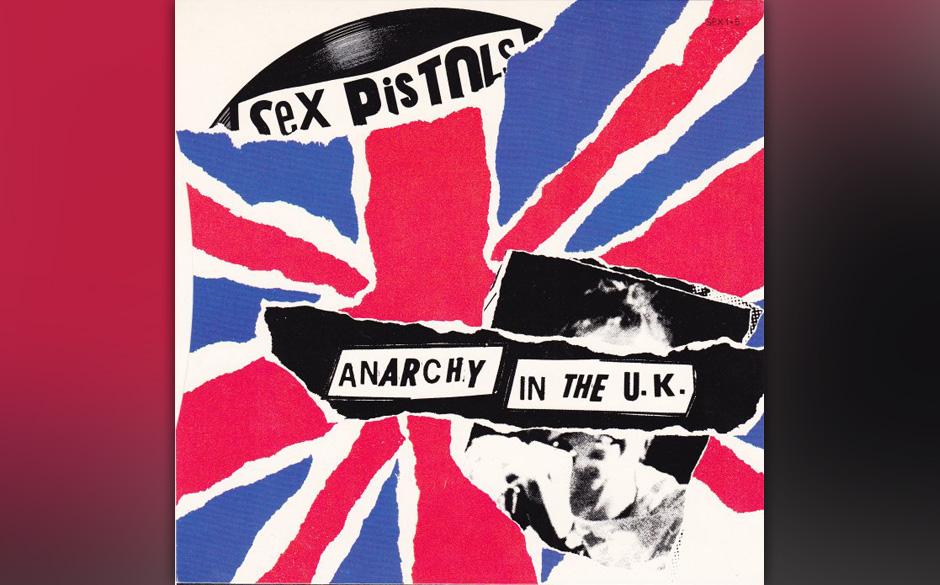 "Sex Pistols – ""Anarchy In The UK"" (Original 1976 7"") Acetat-Pressung von 1976.  Ca. 6.000€"