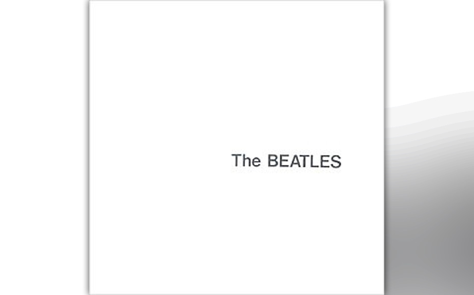"""The Beatles – """"The Beatles""""(1968). Das besondere an diesem Album ist, dass der Designer des Rohlings zusammen mit Paul"""
