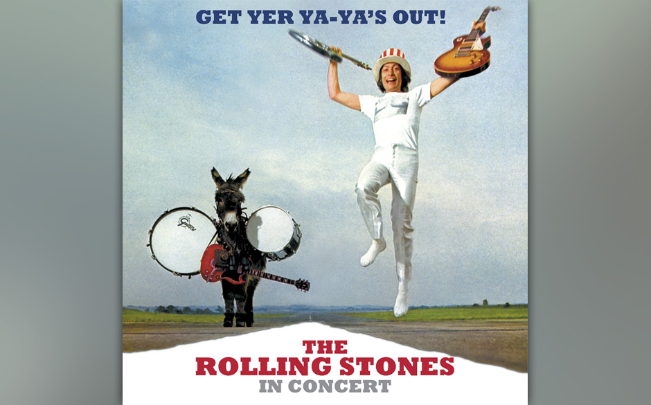 Platz 12: The Rolling Stones - 'Get Yer Ya-Ya's Out!'