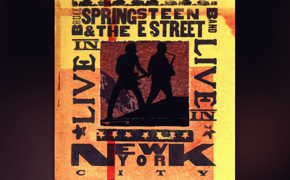 Platz 35: Bruce Springsteen & The E Street Band - 'Live In New York City'