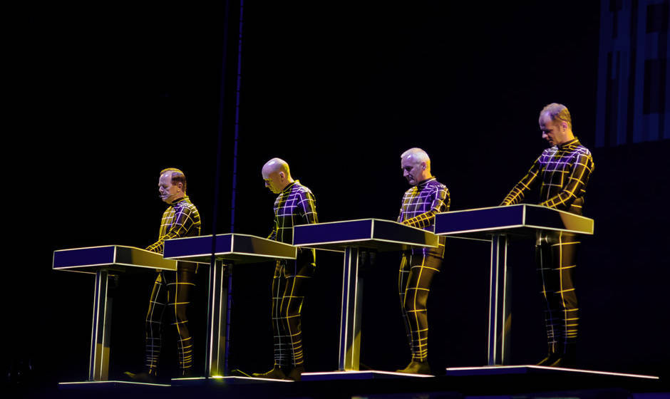 Kraftwerk beim Roskilde Festival