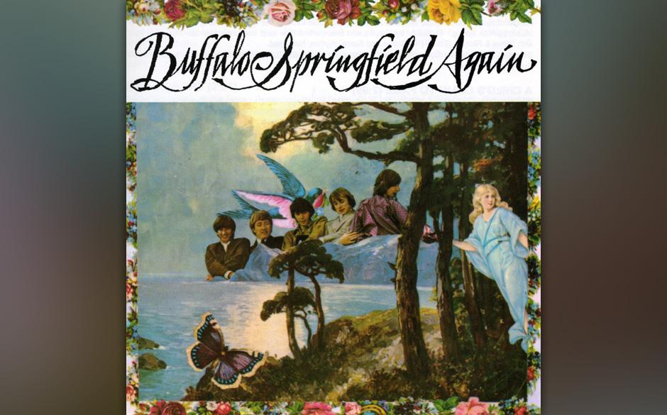 Buffalo Springfield - Buffalo Springfield Again  Die umfangreiche Dankesgrußliste auf dem Cover beginnt mit Hank B. Marvin,