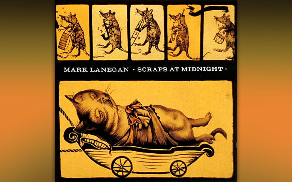 Mark Lanegan - Scraps At Midnight  Mehr Morricone als Duane Eddy, bereitet der Twang von 'Hospital Roll Call' einen Untergrun