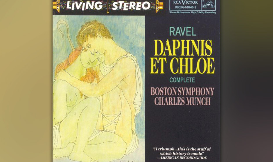 Maurice Ravel/Boston Symphony Orchestra - 'Daphnis und Chloe' (1958)