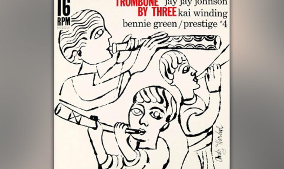 J. J. Johnson, Kai Winding, Benny Green - 'Trombone by Three' (1956)