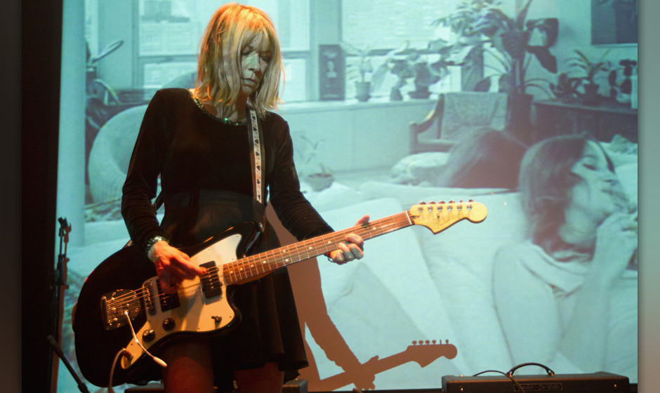 SAN FRANCISCO, CA - FEBRUARY 26:  Kim Gordon of Body/Head performs during day one of Noise Pop Festival 2013 on February 26,