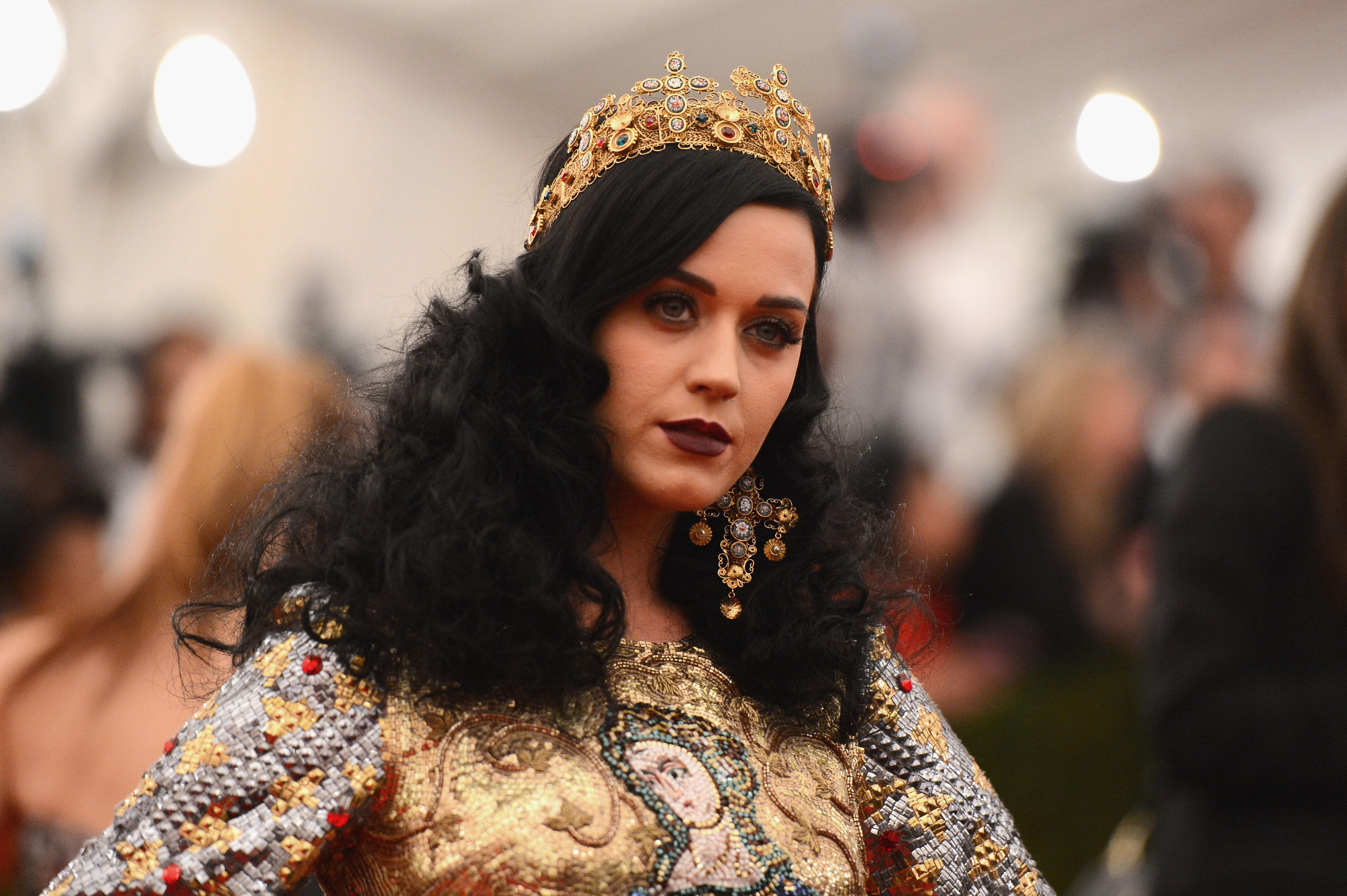 NEW YORK, NY - MAY 06:  Katy Perry attends the Costume Institute Gala for the 'PUNK: Chaos to Couture' exhibition at the Metr