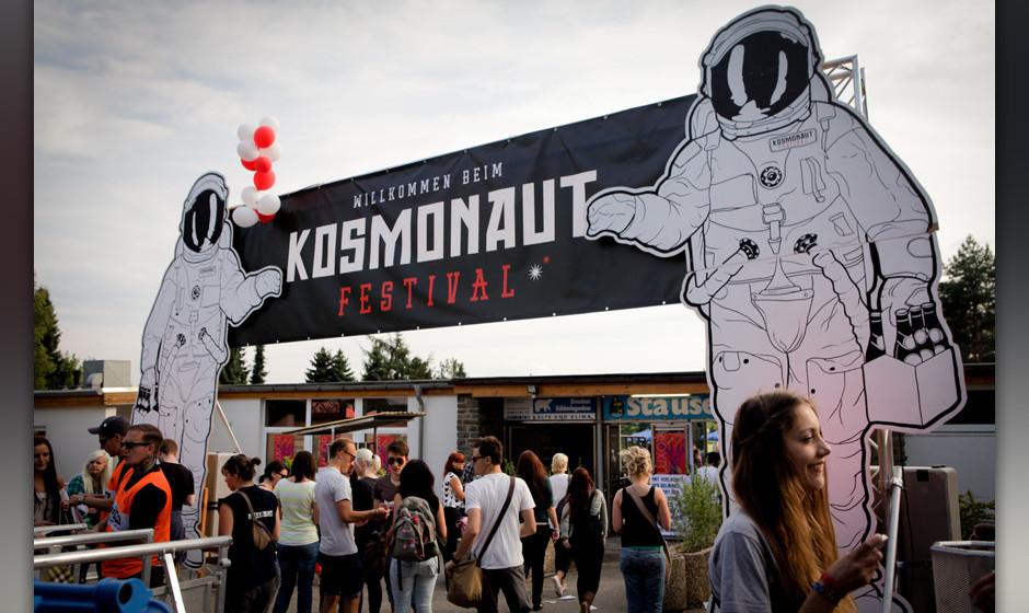 Das Kosmonaut Festival 2013 bei Chemnitz.