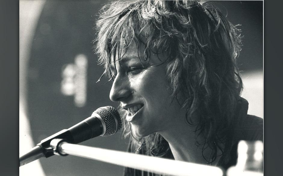Gianna Nannini S‰ngerin Italienerin 1979 in Hamburg