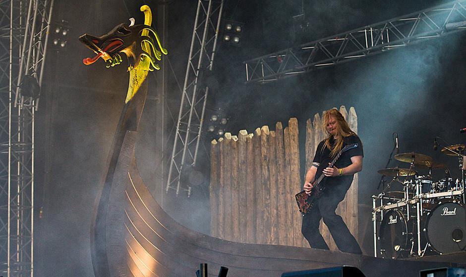 Amon Amarth live, Sweden Rock 2013