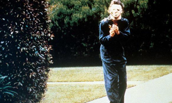"Szene aus ""Halloween"" von John Carpenter"