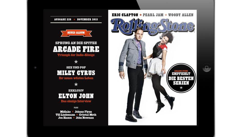 Jetzt erhältlich: Die Rolling-Stone-App im November