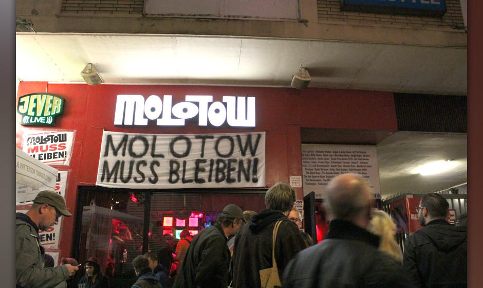 Von der Schließung bedroht: Der Molotow-Club