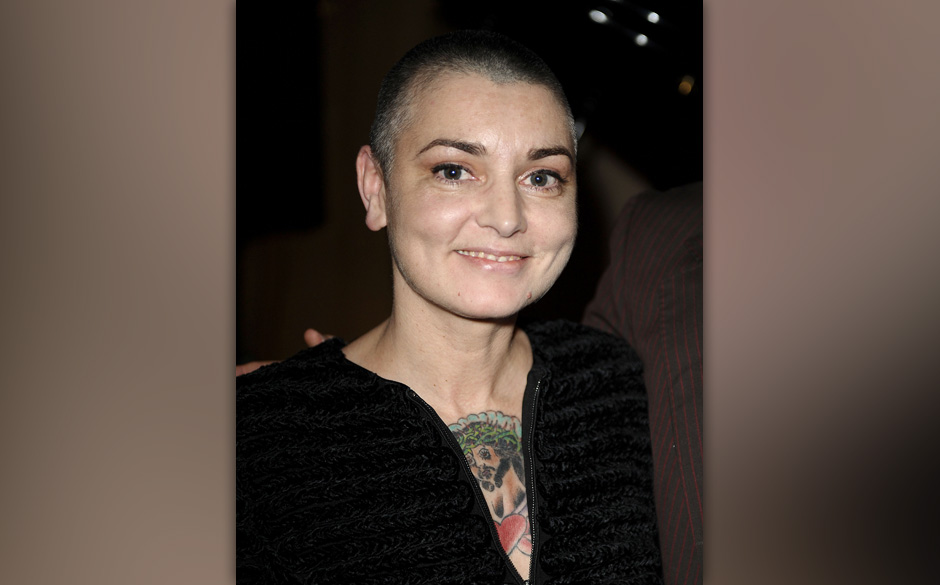 WEST HOLLYWOOD, CA - JANUARY 06:  Sinead O'Connor attends the 'Albert Nobbs' soundtrack release party at Palihouse Holloway o