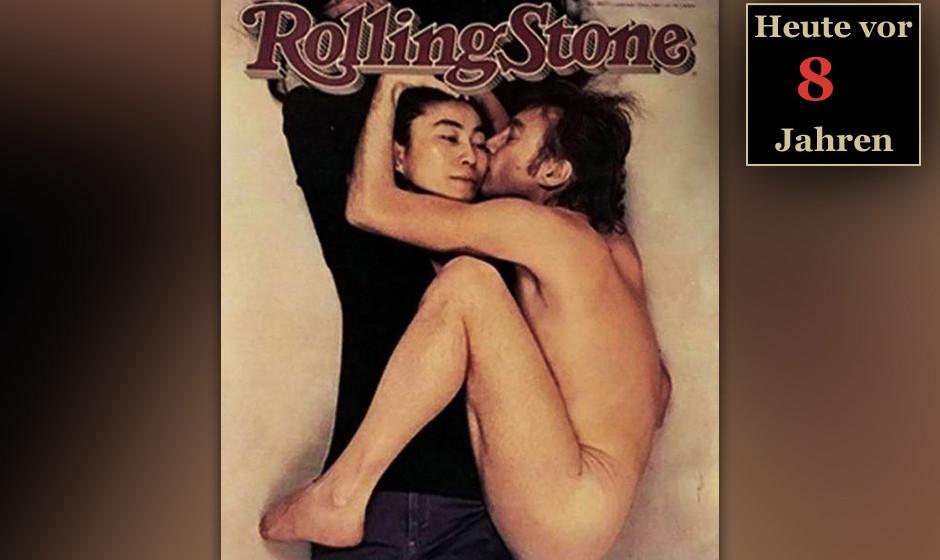 Rewind Today 2005: Lennon-Ono-Cover des ROLLING STONE wird zum besten Titelfoto der letzten 40 Jahre gewählt (Platz 1). 22.