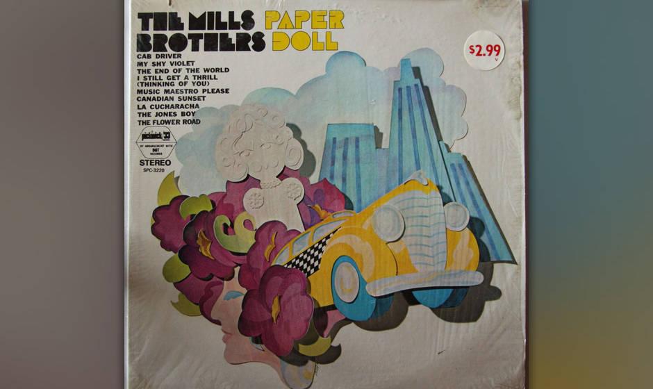 """Die Mills Brothers veröffentlichten """"Paper Doll"""" bereits 1943 und sind mit 11 Millionen verkauften Singles immer noch ganz mit dabei."""