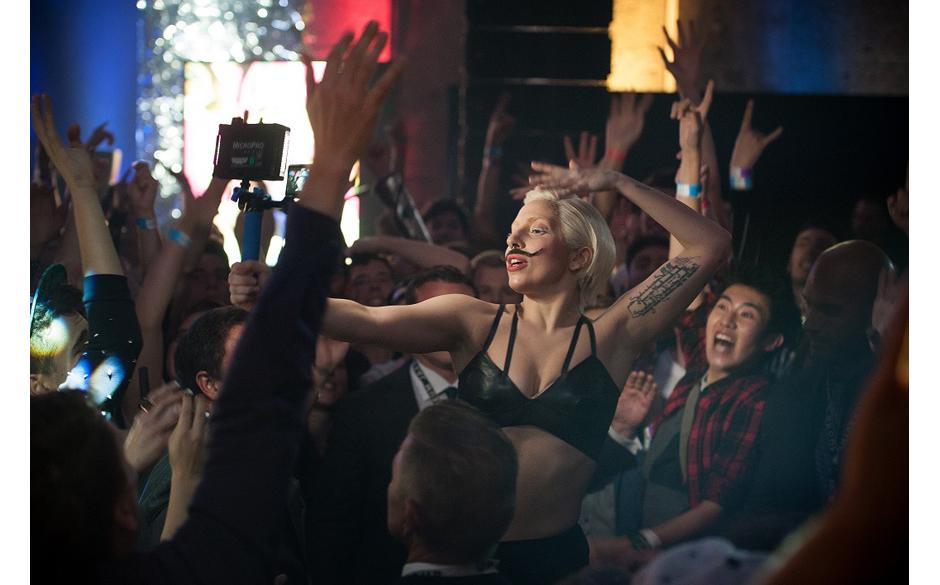 Lady Gaga im Berghain