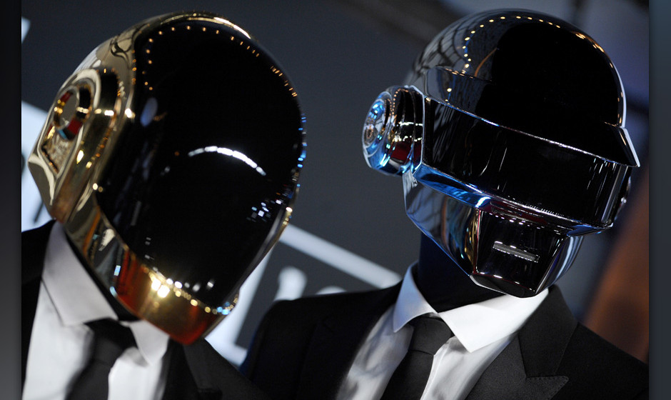 Daft Punk attends the 2013 MTV Video Music Awards at the Barclays Center on August 25, 2013 in New York City, NY. Photo by Li