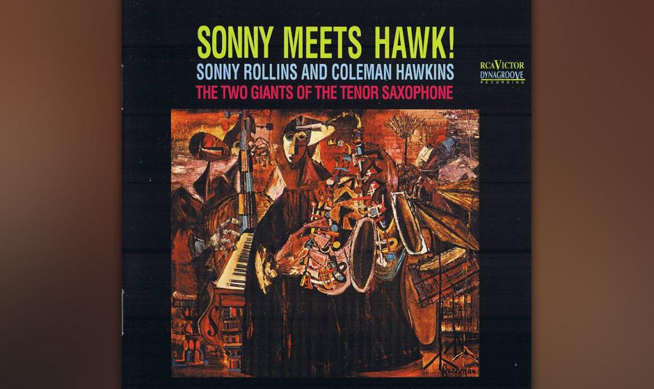 61. Sonny Rollins & Coleman Hawkins - Sonny Meets Hawk! (1963). Gipfel der Tenorsaxofonisten.