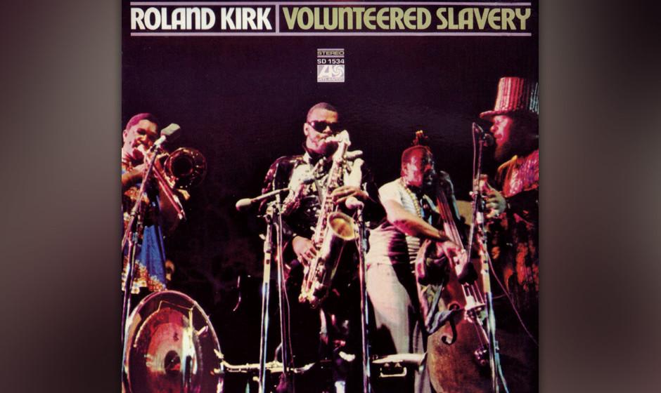71. Rahsaan Roland Kirk - Volunteered Slavery (1969). Jazz-Poetry-Gottesdienst.