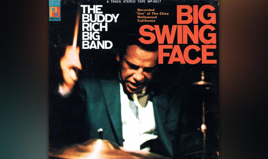 "76. Buddy Rich - Big Swing Face (1967). Richs Big Band in früher Blüte eröffnet mit ""Norwegian Wood""."