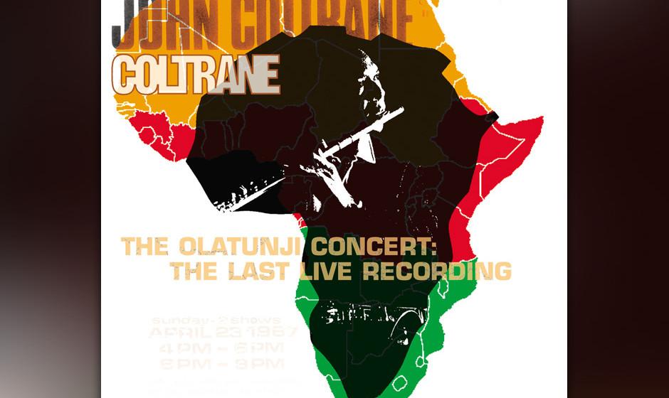 88. John Coltrane - The Olatunji Concert (2001). Tranes vorletzter Gig.