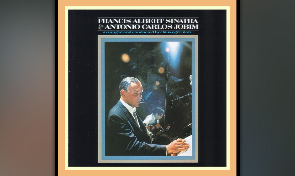 91. Frank Sinatra & Antonio Carlos Jobim - Same (1967). Ol' Blue Eyes goes Bossa nova.