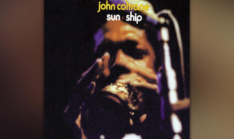 97. John Coltrane - Sun Ship (1971). Das klassische Quartett in voller freier Pracht.