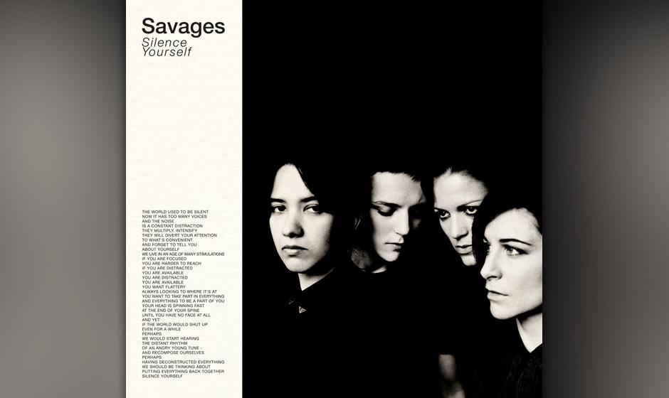 "10. Savages - ""Silence ..."""