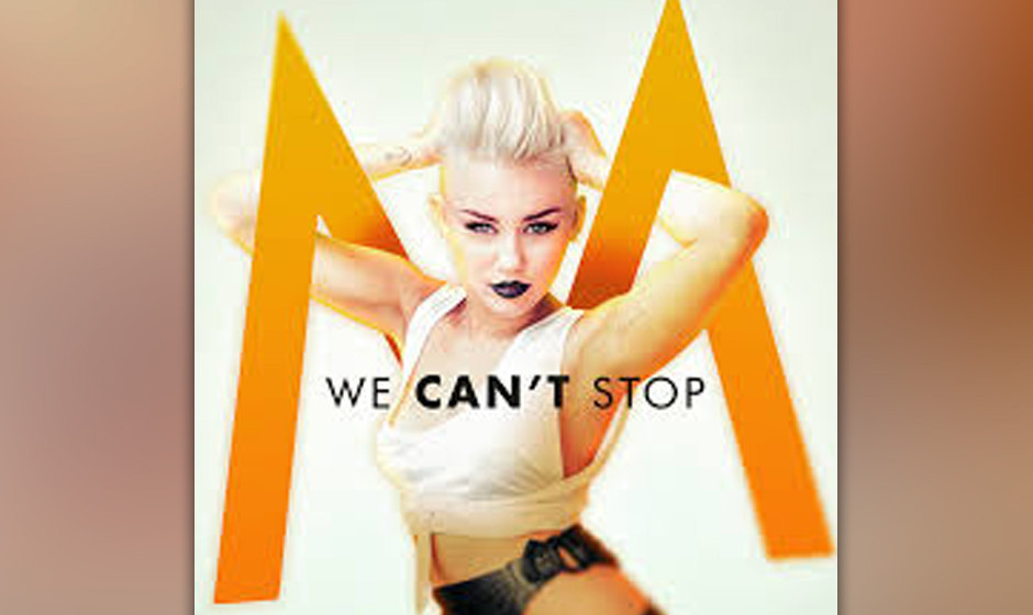 3. Miley Cyrus - 'We Can't Stop'