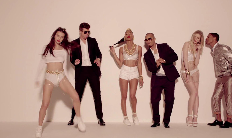 6. Robin Thicke feat. T.I. und Pharrell 'Blurred Lines'