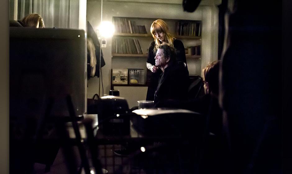 Bisher unveröffentlichte Fotos von Lou Reed, aufgenommen im November 2012 in Frankfurt