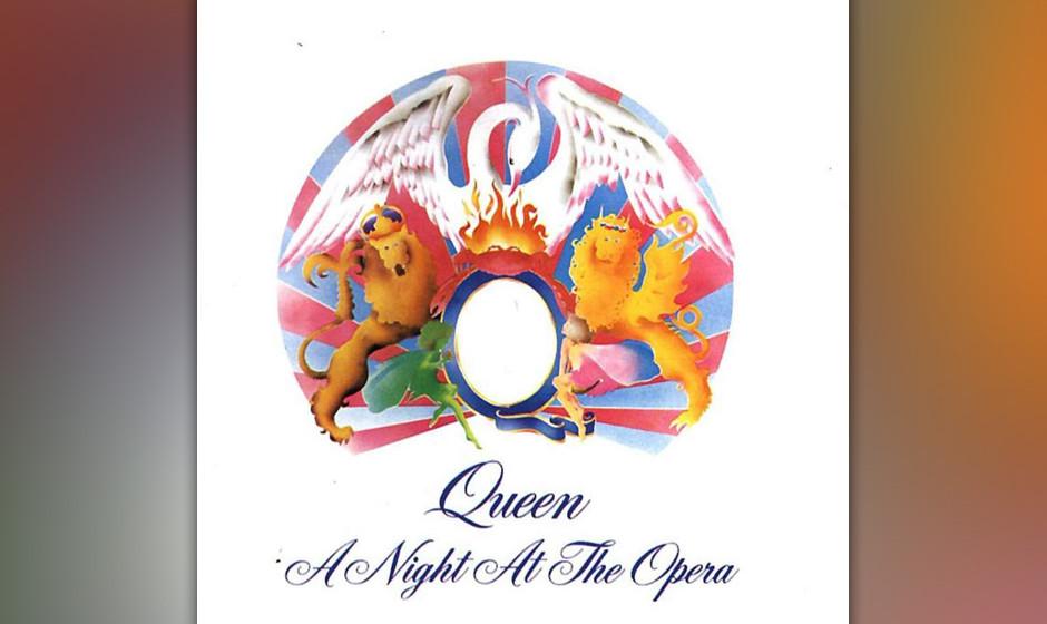 """231. A Night At The Opera: Queen 1975. Freddie Mercury wollte Queen zum """"Cecil B. DeMille der Rockmusik"""" machen – und a"""