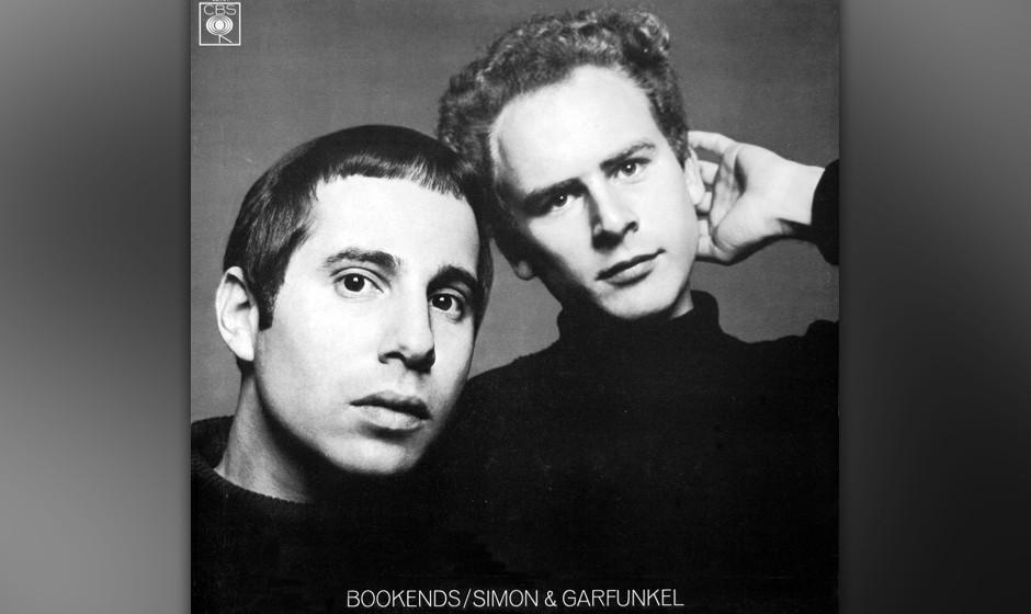 """234. Bookends: Simon And Garfunkel 1968. Paul Simon nannte es """"das essenzielle Simon-&-Garfunkel-Album"""". Der überwiegend"""