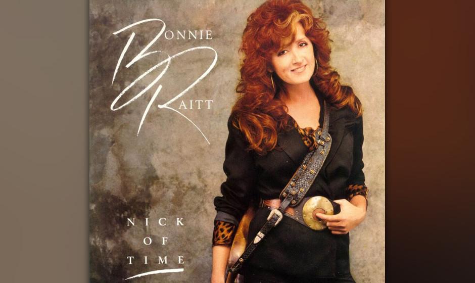 230. Nick Of Time: Bonnie Raitt 1989. Nachdem sie von ihrem früheren Label abserviert worden war, revanchierte sich Raitt mi