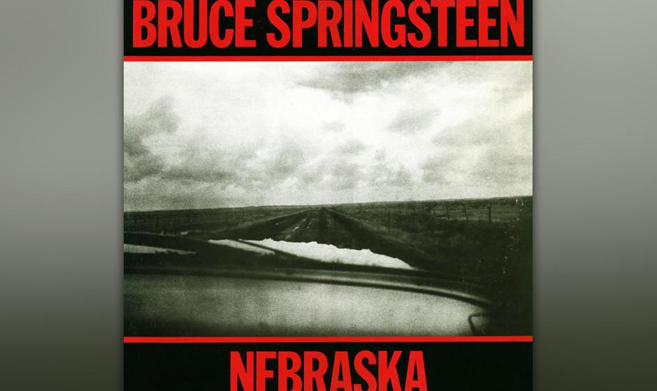 """226. Nebraska:Bruce Springsteen 1982.""""Nebraska"""", auf einem Vierspur-Gerät in seinem Schlafzimmer aufgenommen, gab Spring"""