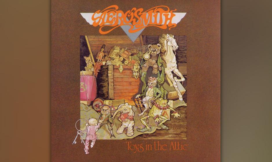 229. Toys In The Attic: Aerosmith 1975. Es war das Album, auf dem Aerosmith ihren wüsten Blues-Rock perfektionierten. Gitarr
