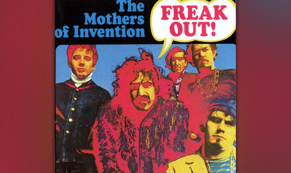 246. Freak Out!: The Mothers of Invention 1966. Zappa nahm über 60 Alben auf, doch das erste war vielleicht das relevanteste