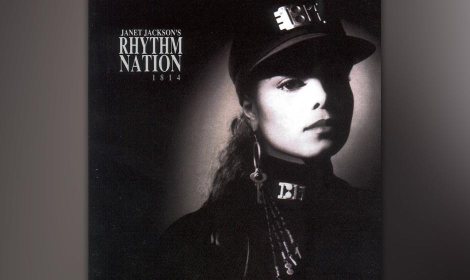 """277. Rhythm Nation 1814: Janet Jackson 1989. Jackson kontrollierte mit """"Rhythm Nation"""" zwei Jahre lang die Radiowellen. Z"""