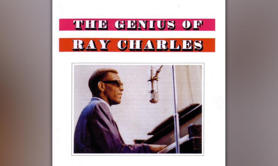 265. The Genius Of Ray Charles: Ray Charles 1959. In den Fünfzigern arbeitete Charles verbissen an der Perfektionierung sein