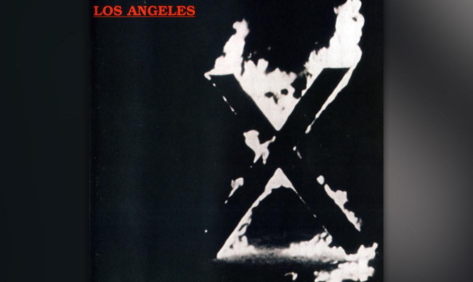 287. Los Angeles: X 1980. Mit ihrem Debüt legte die L.A.-Punk-Band das erste Westcoast-Punk-Album vor, das vor allem ob des