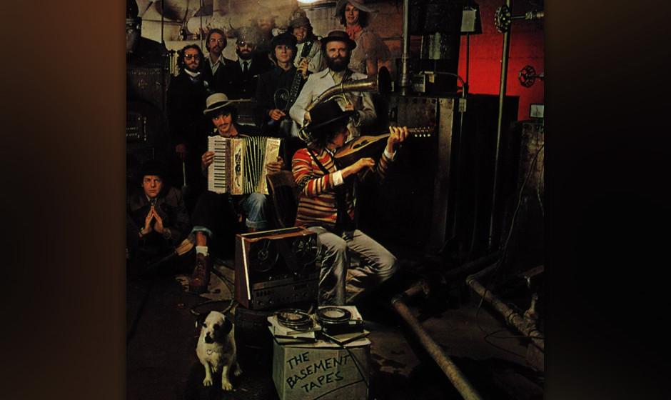 "292. The Basement Tapes: Bob Dylan And The Band 1975. ""Alles geht"" lautete das Motto des entspannten Folk-Rock-Albums von"