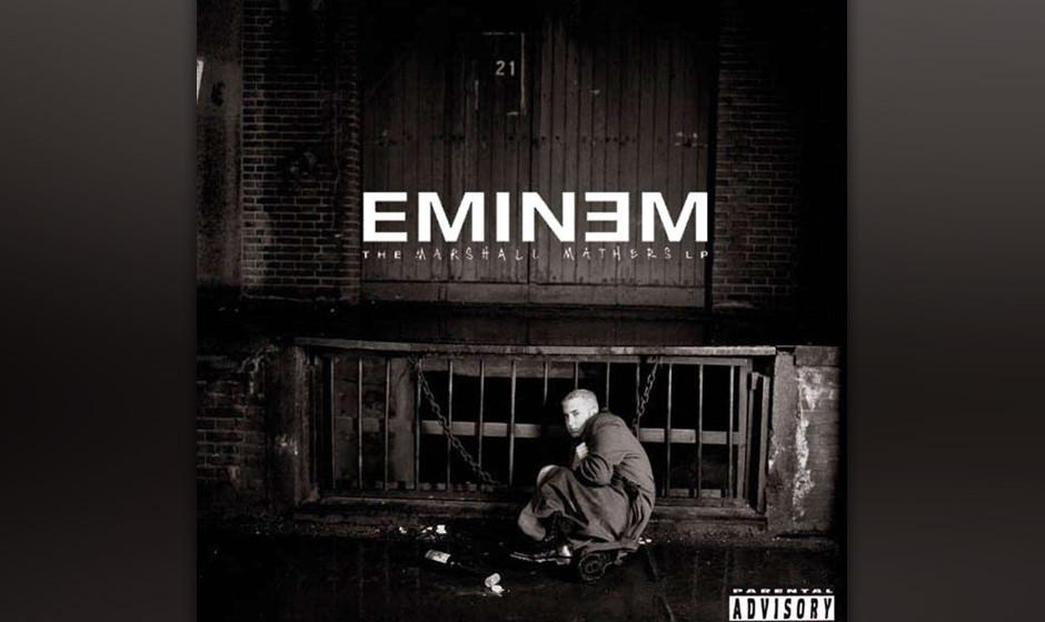 244. The Marshall Mathers LP: Eminem 2000. Vor seiner zweiten LP galt Eminem als witziger Schock-Rapper – danach war er pl�