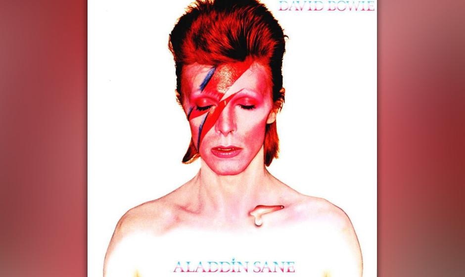 """279. Aladdin Sane: David Bowie 1973."""",Aladdin' war so etwas wie ,Ziggy goes to America'"""", sagte Bowie über die """"Zi"""