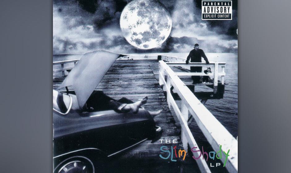 "275. The Slim Shady LP: Eminem 1999. Hier offenbarte sich Eminem als ""class-clown freshman/ dressed like Les Nessman"". Di"