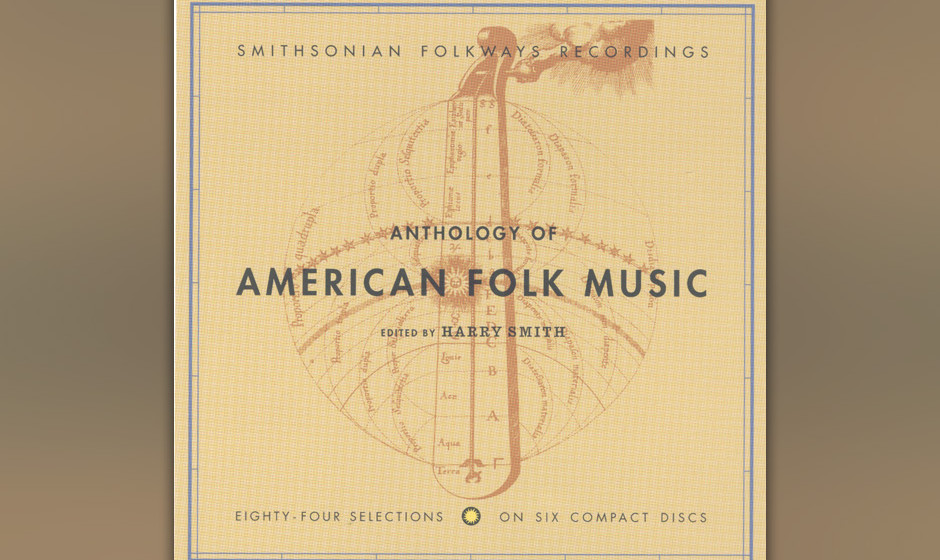 278. Anthology Of American Folk Music: Harry Smith, Ed. 1952. Diese Compilation beeinflusste Folkies wie Pete Seeger und den