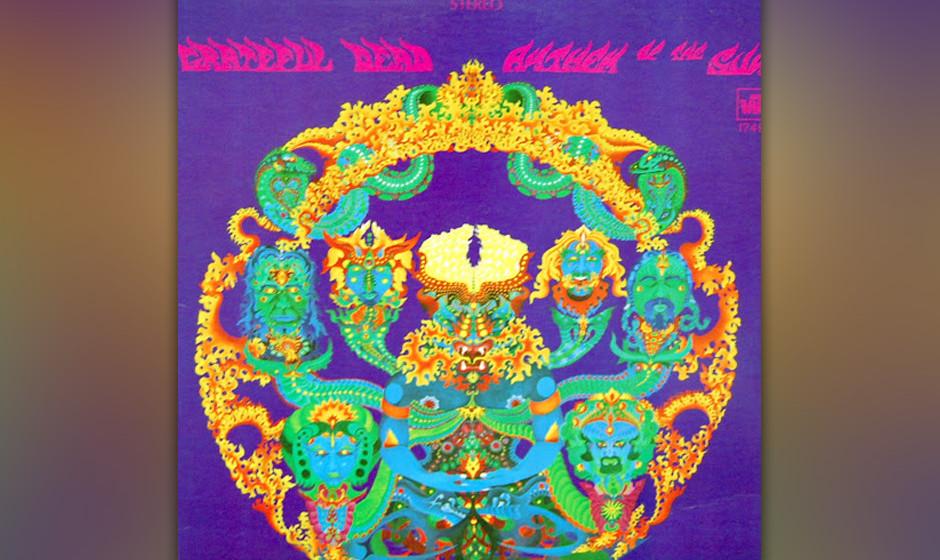 288. Anthem Of The Sun: Grateful Dead 1968. Das zweite Album der Band wurde mit Überblendungen aus Live-Aufnahmen und Studio