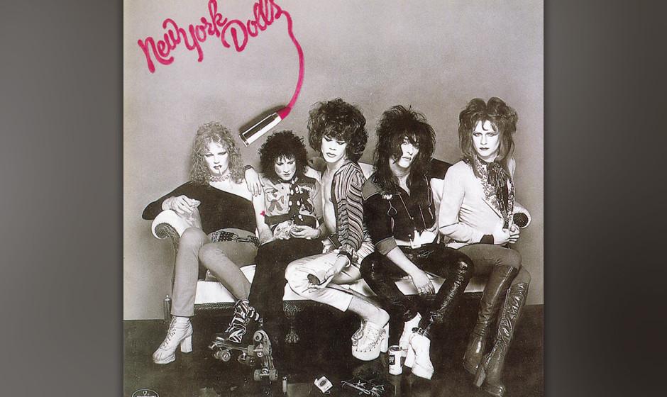 """215. New York Dolls: New York Dolls 1973.""""Could you make it with Frankenstein?"""", fragten sie ohne mit der Wimper zu zucke"""