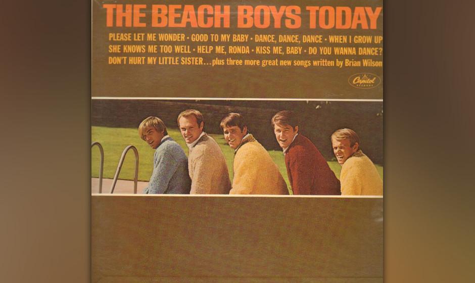 271. The Beach Boys Today!: The Beach Boys 1965. Sie lebten für Cars, Girls und Surf, doch Brian Wilson zeigte bereits Anzei